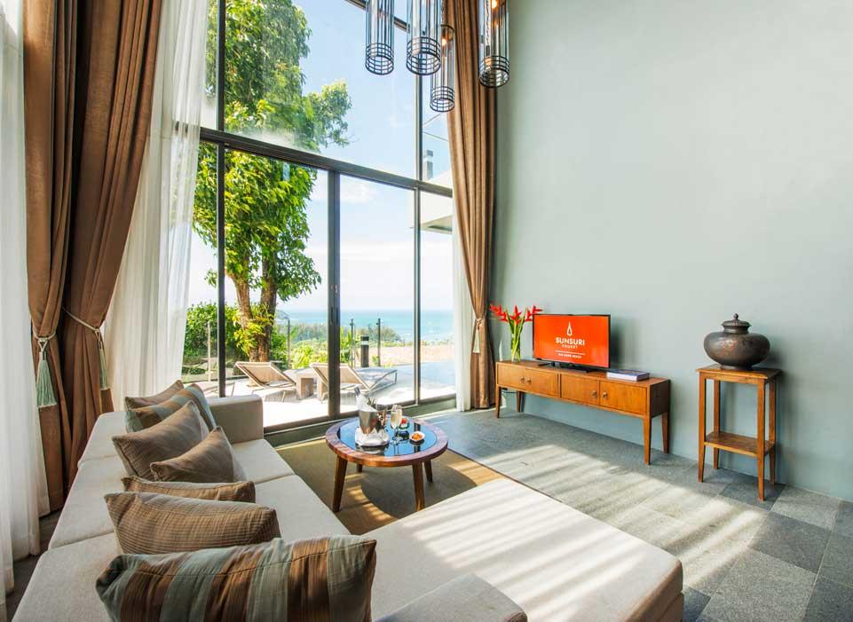 Sunsuri Phuket 海景双卧泳池别墅